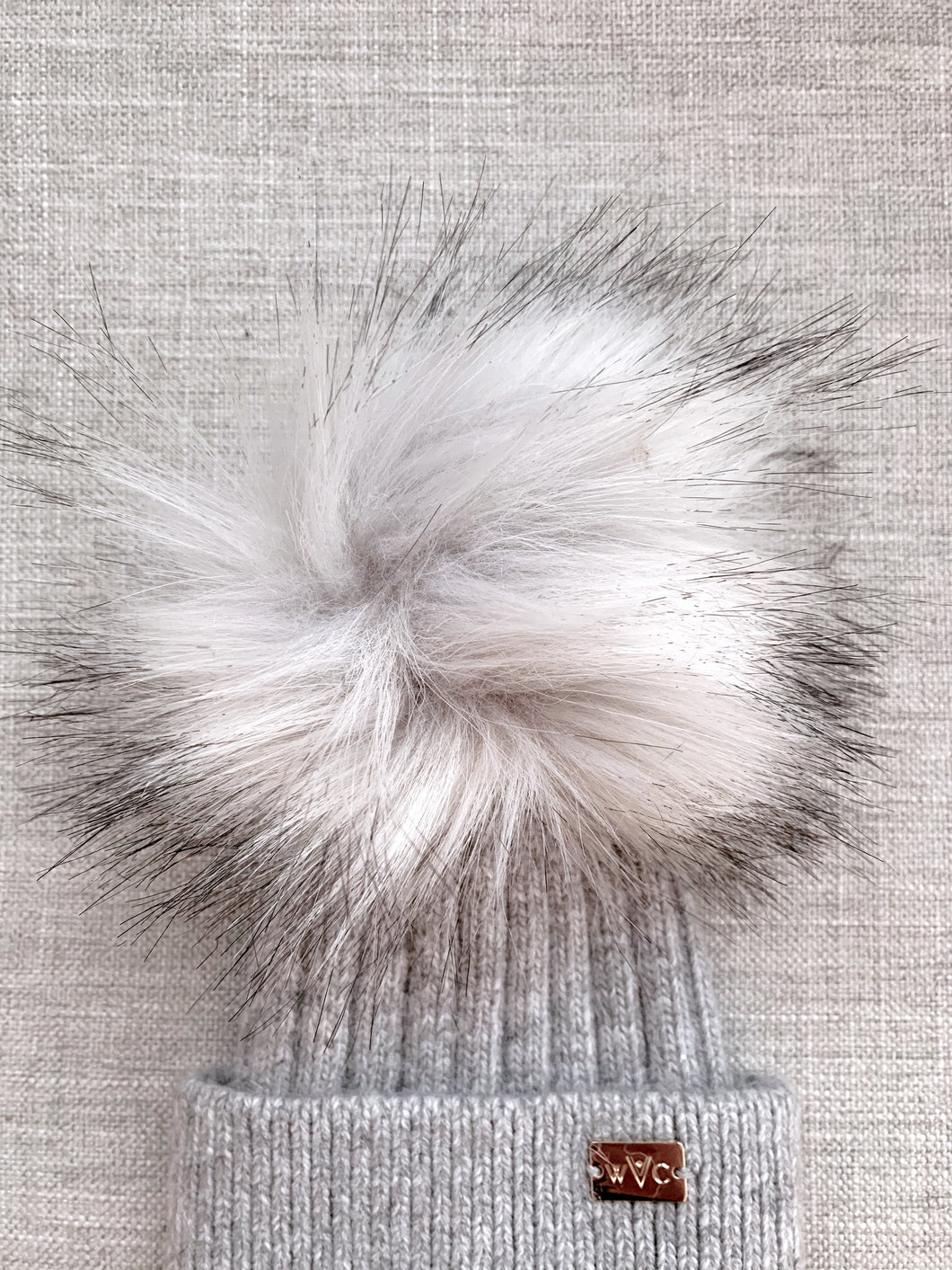Grey Pom - Royal Wool