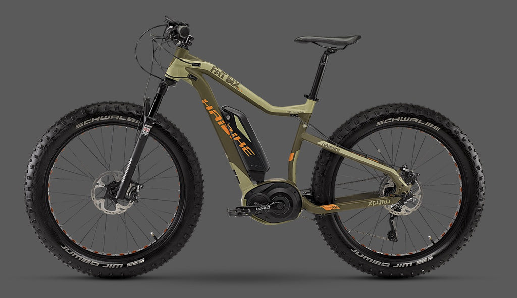Haibike XDURO Fatsix Electric Bike