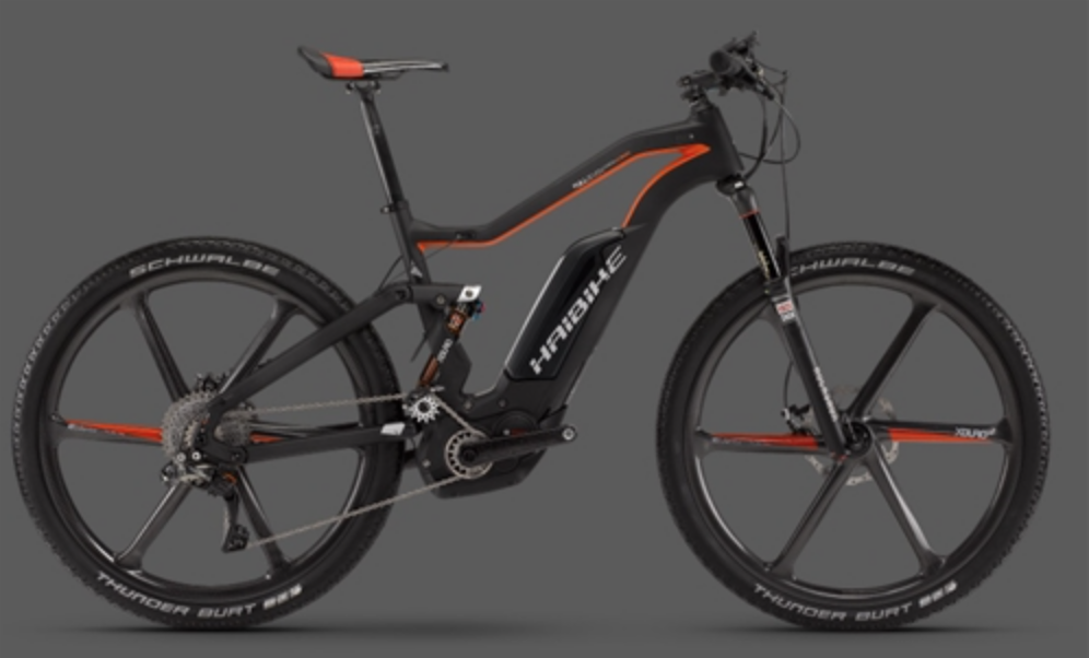 HAIBIKE XDURO FULLSEVEN CARBON ULTIMATE ELECTRIC BIKE