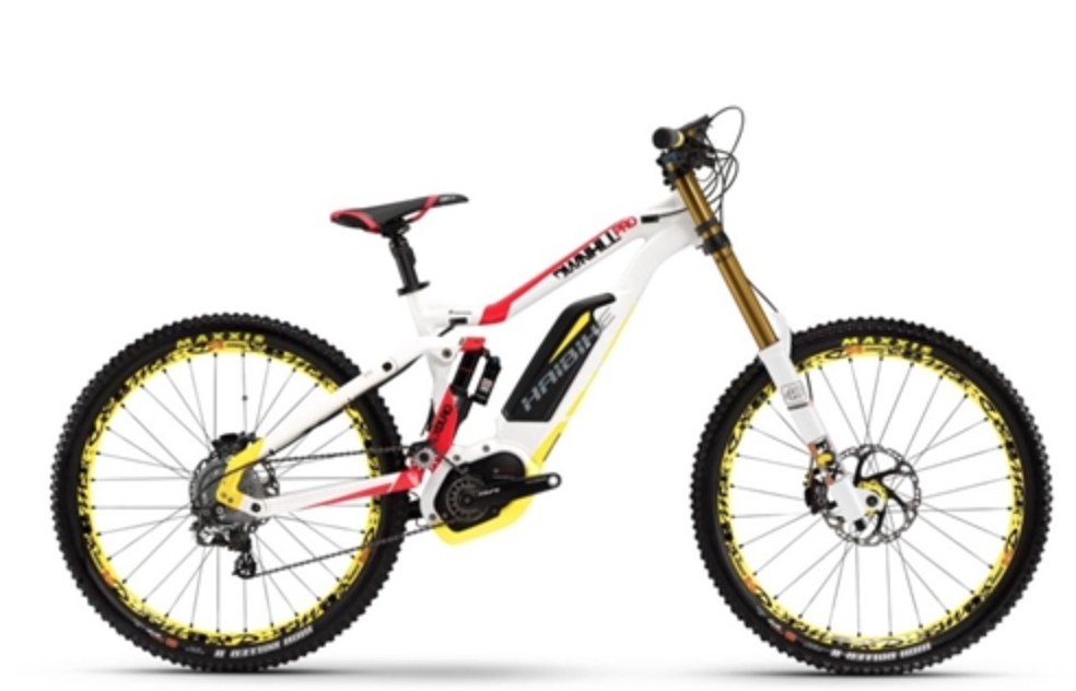 HAIBIKE XDURO DOWNHILL PRO ELECTRIC MOUNTAIN BIKE