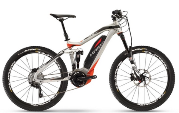 HAIBIKE SDURO AMT PRO ELECTRIC MOUNTAIN BIKE