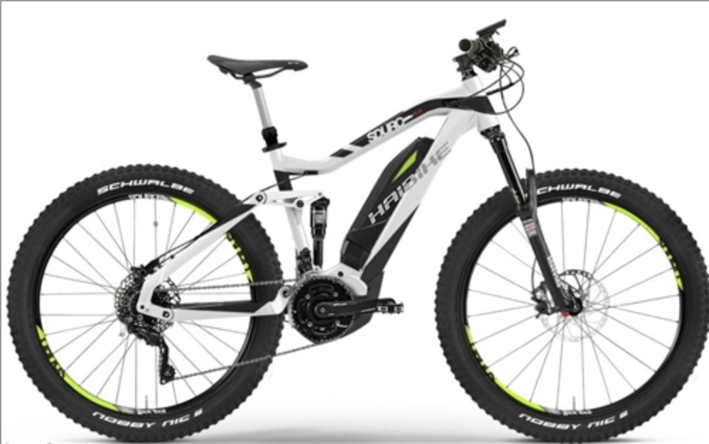 HAIBIKE SDURO AMT PLUS ELECTRIC MOUNTAIN BIKE