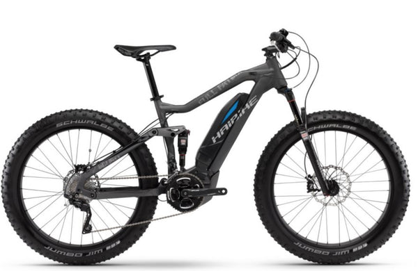 HAIBIKE SDURO FULL FATSIX ELECTRIC MOUNTAIN BIKE