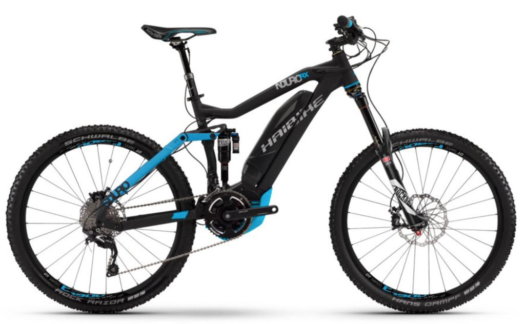 HAIBIKE SDURO NDURO RX ELECTRIC MOUNTAIN BIKE