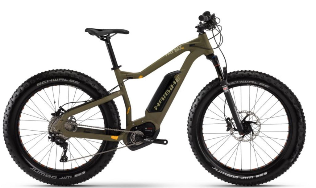 HAIBIKE XDURO FATSIX RX ELECTRIC FAT TIRE BIKE