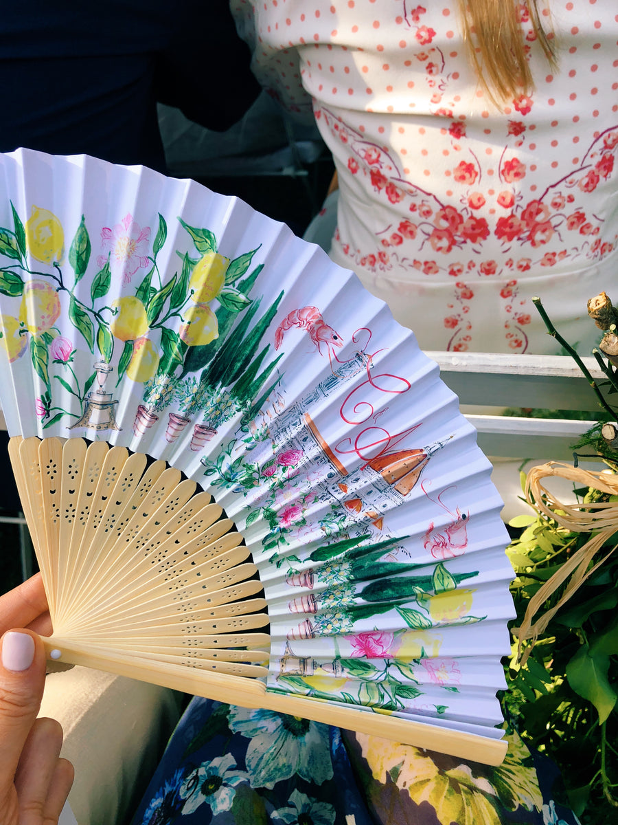 Wedding Favour Fan