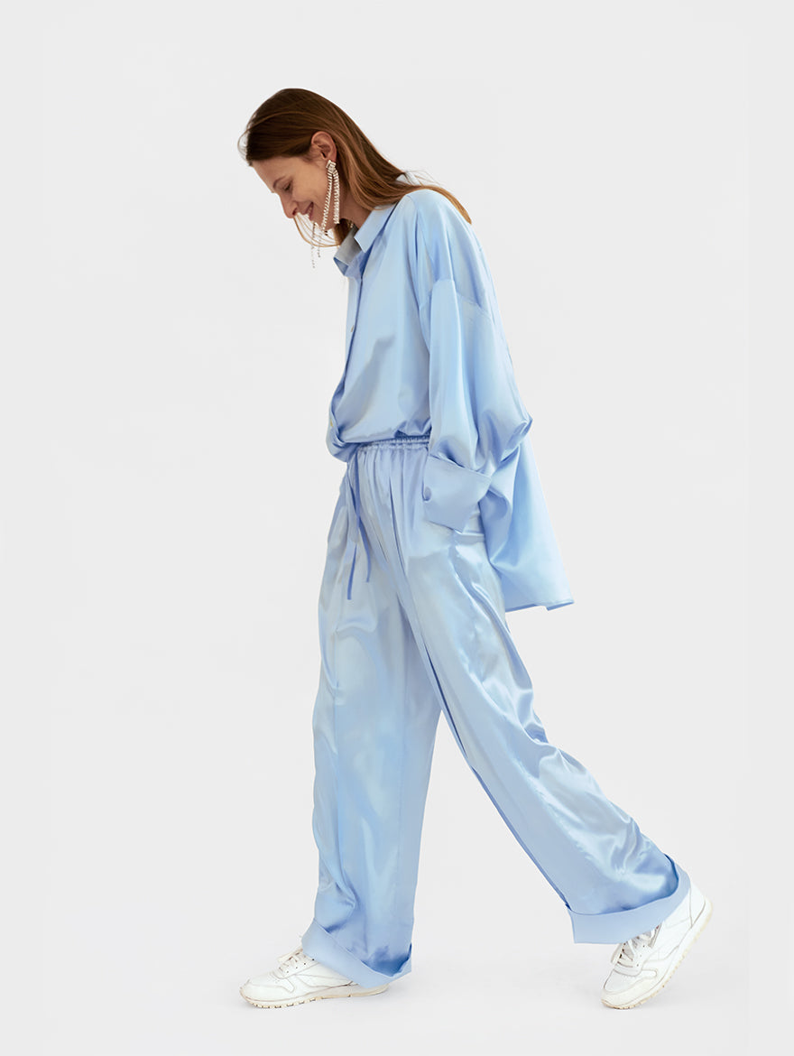 Sizeless Pajama Set in Blue