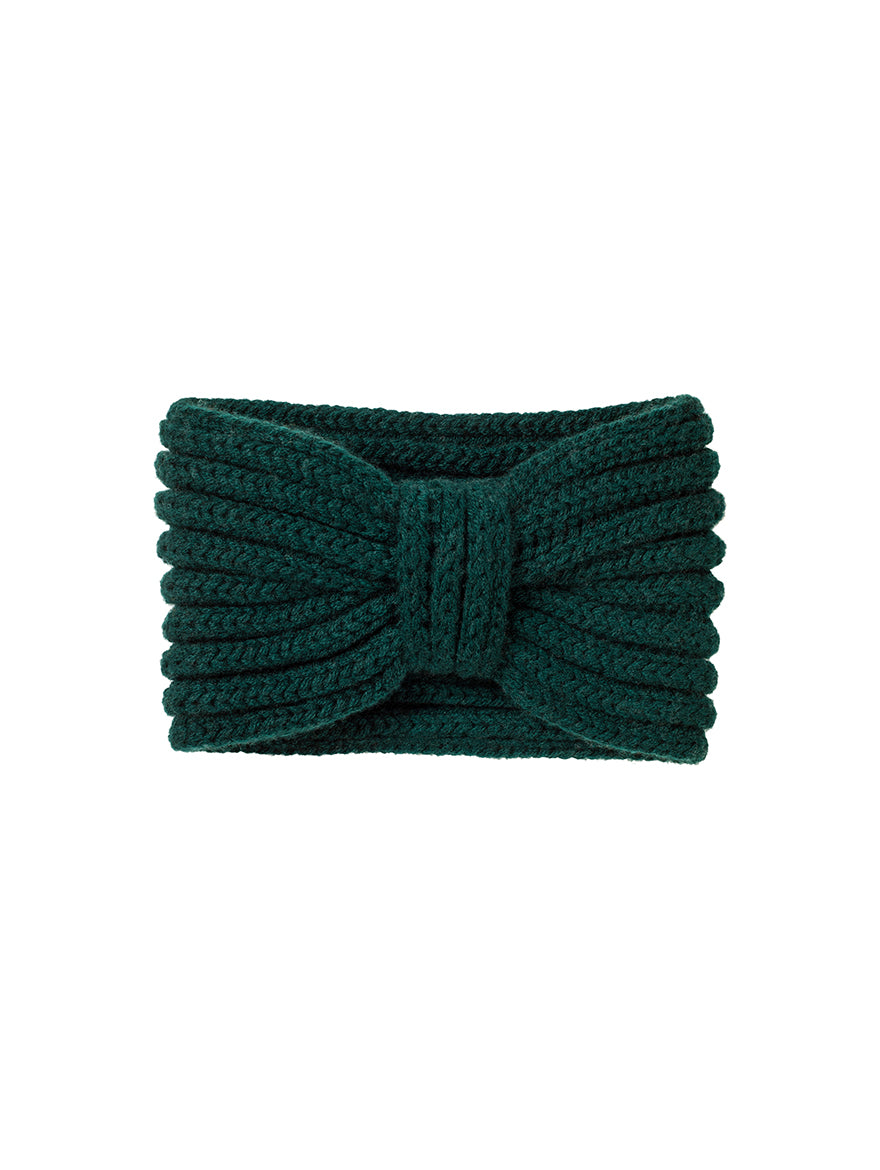 Cashmere Ear-warmer, Bottle Green