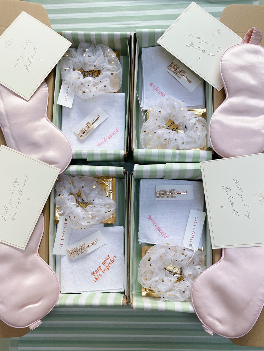Build your own Bridesmaid Gift Box