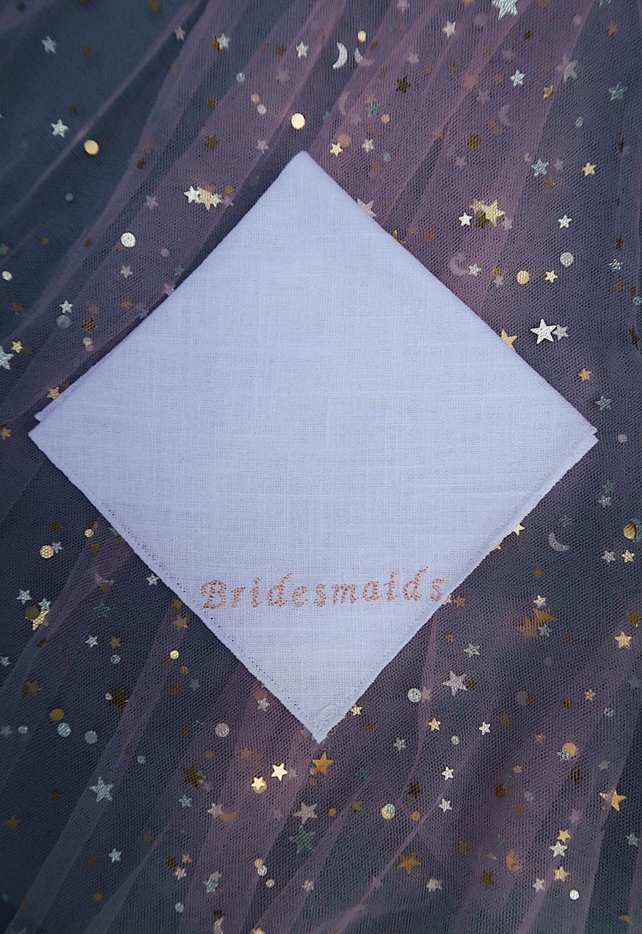 Bridesmaids Handkerchief