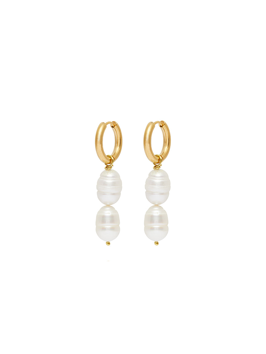 Cesca Pearl Earrings