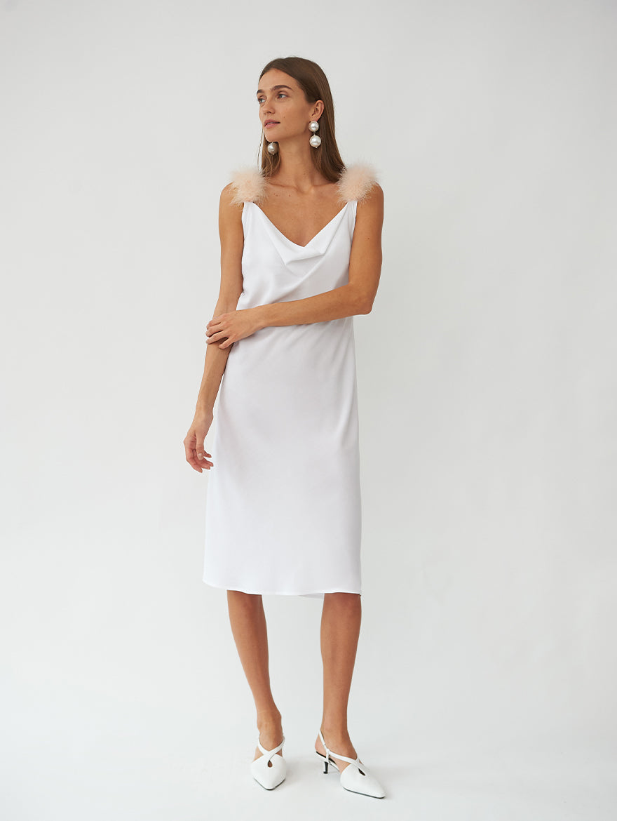 Voulez Vous Dancer? Dress in White
