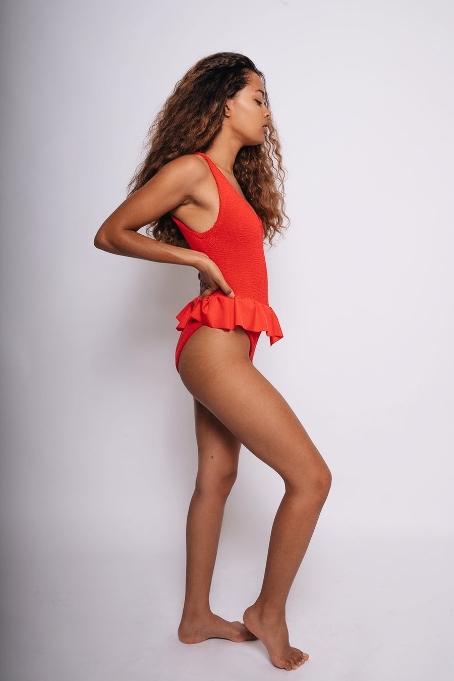 Red Denise Swimsuit