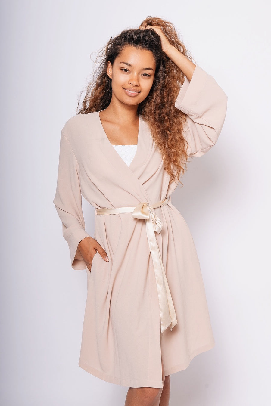 Nude Dressing Gown