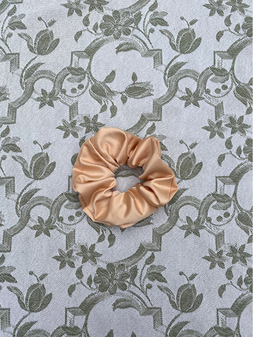 Honey Silk Scrunchie