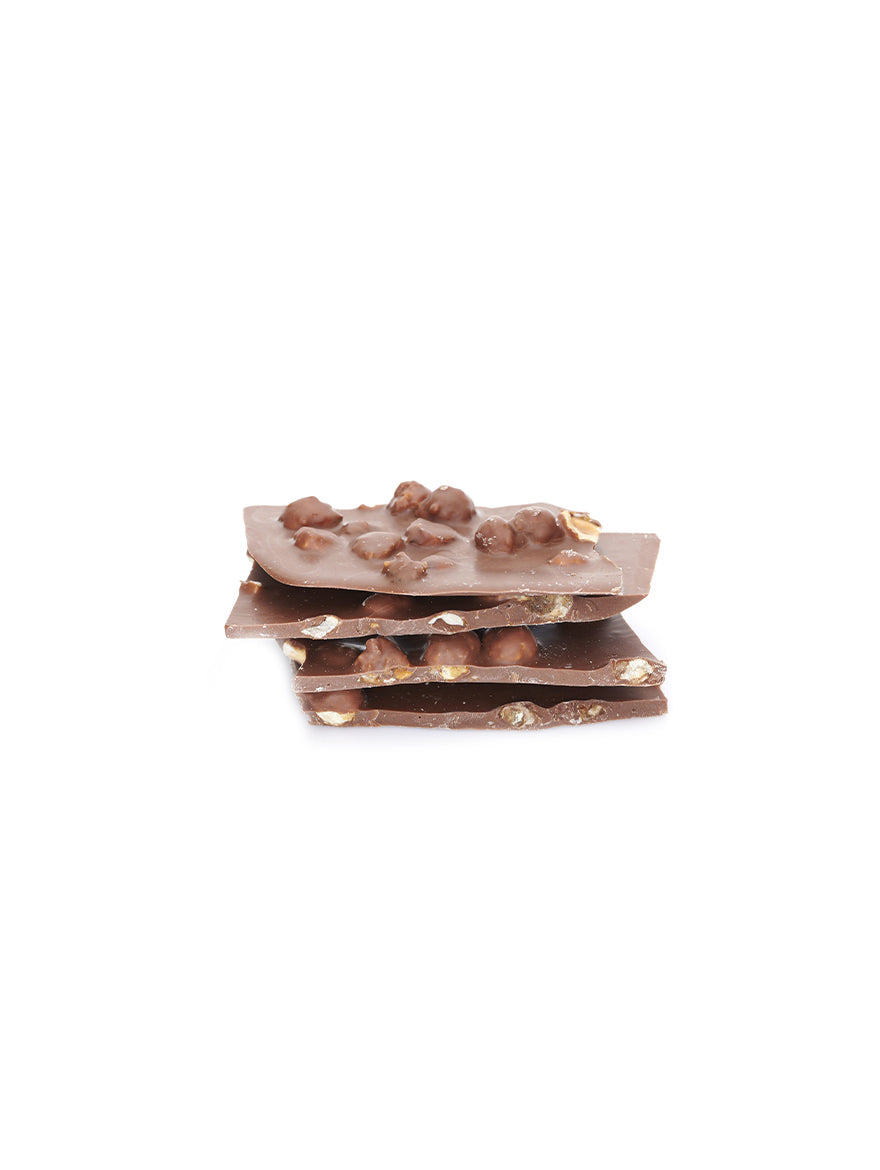 Broken Milk Chocolate with Hazelnuts