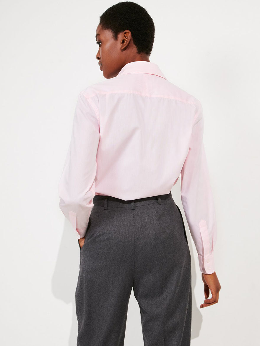 Light Pink Poplin Shirt