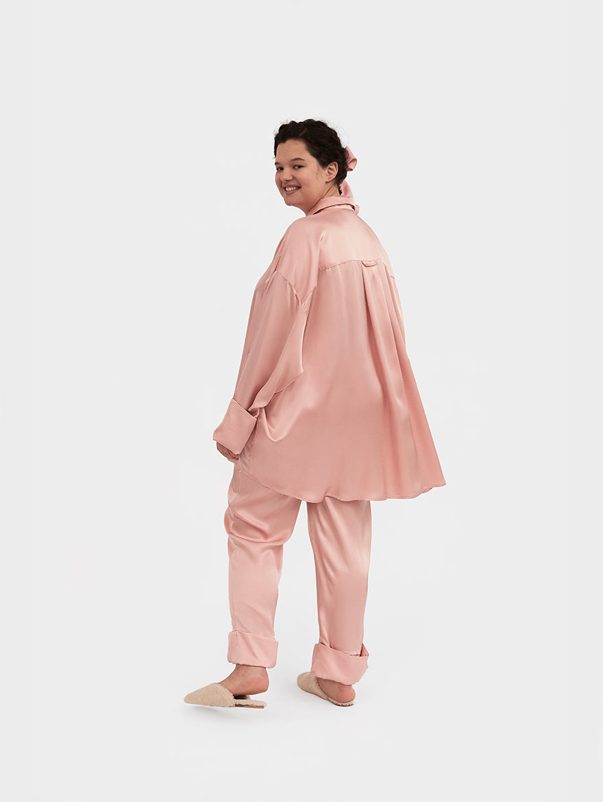 Sizeless Pajama Set in Dust Pink