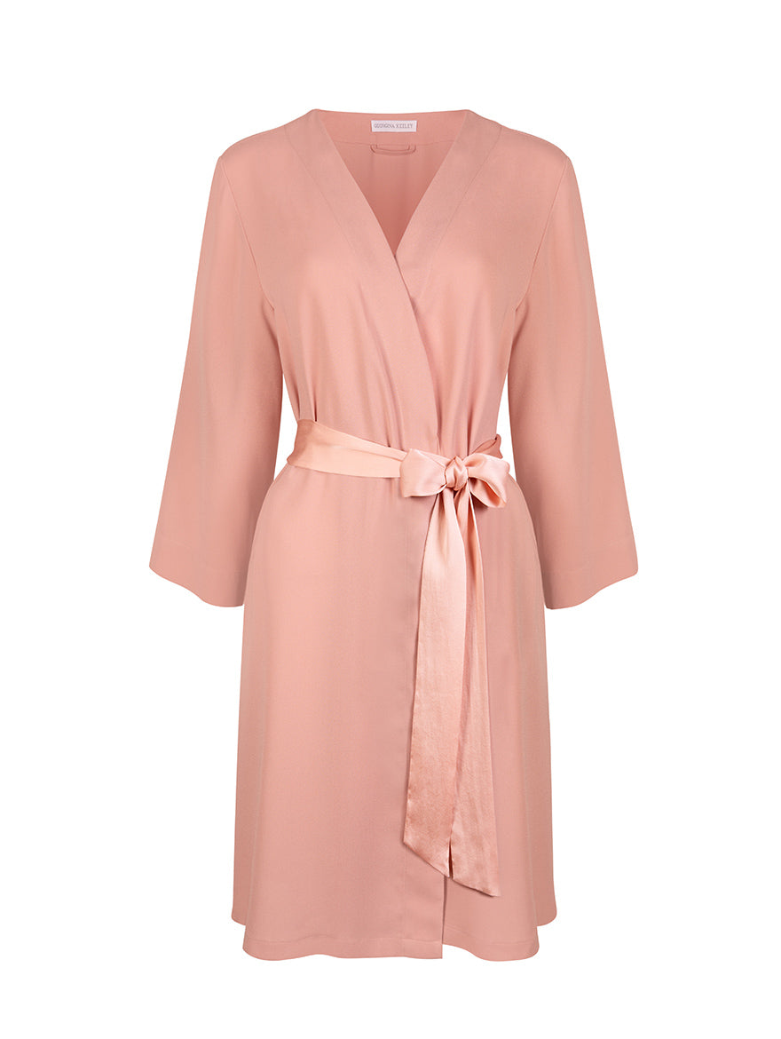 Blush Dressing Gown