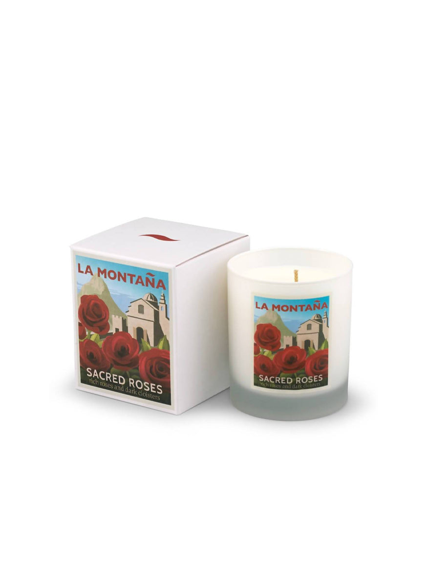 Sacred Roses Scented Candle