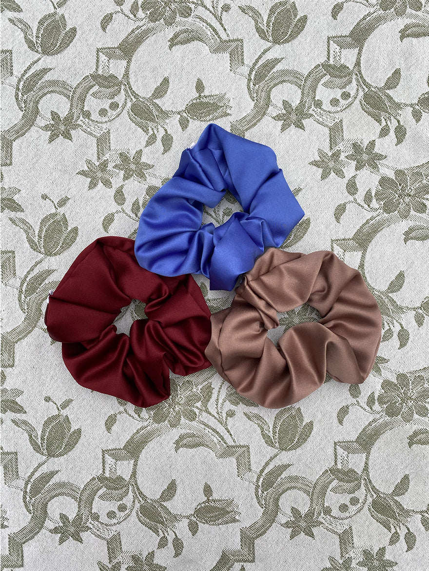 Silk Scrunchie Gift Set