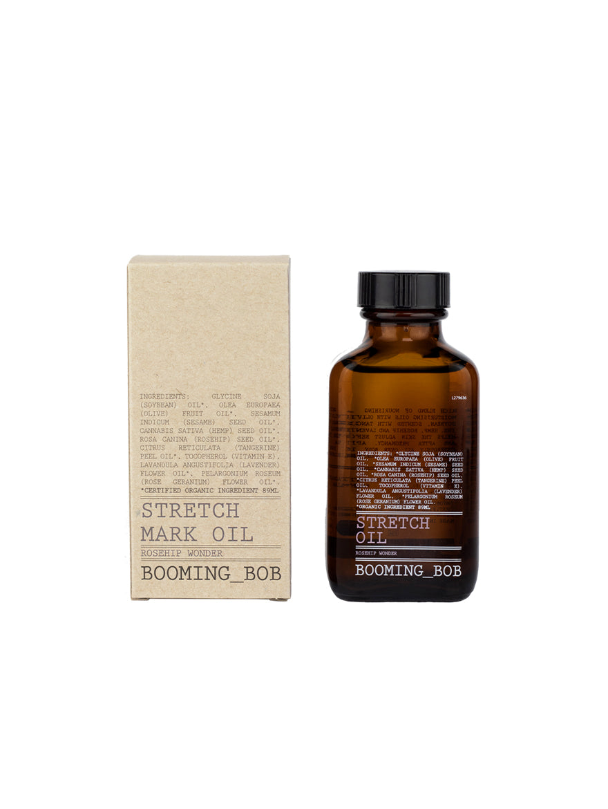 Stretch Mark Oil - Rosehip Wonder & Calming Lavender