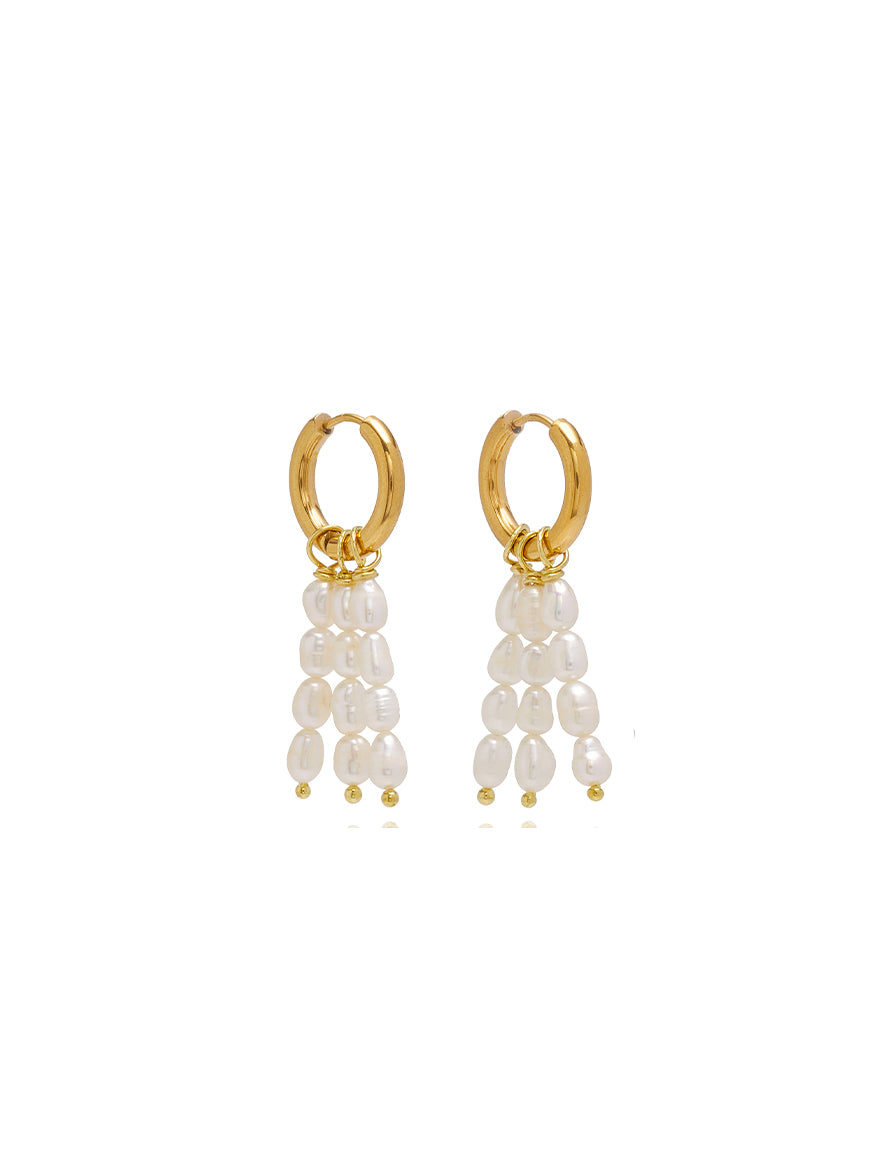 Tripode Pearl Earrings