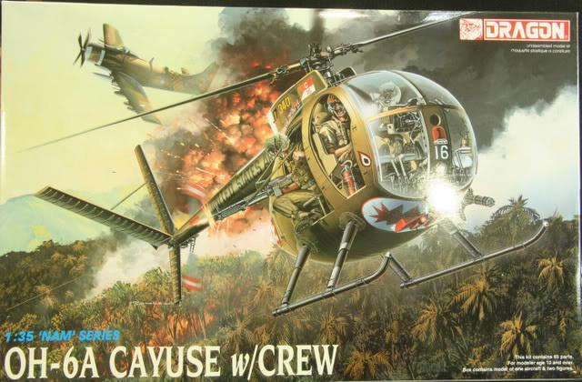 Black Ops 1/35 Little Bird MH-6M Conversion Kit for all Dragon Kits