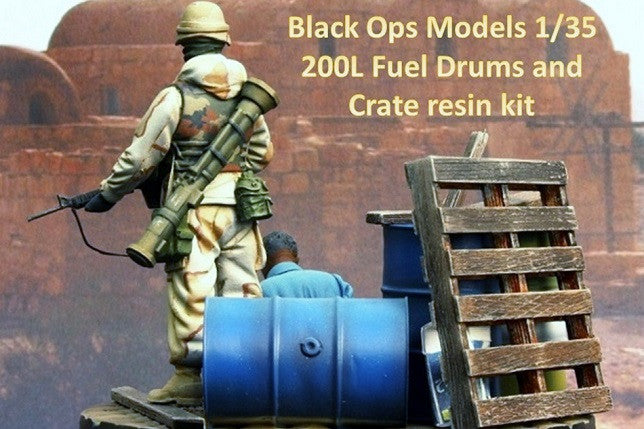 Drums and Crate