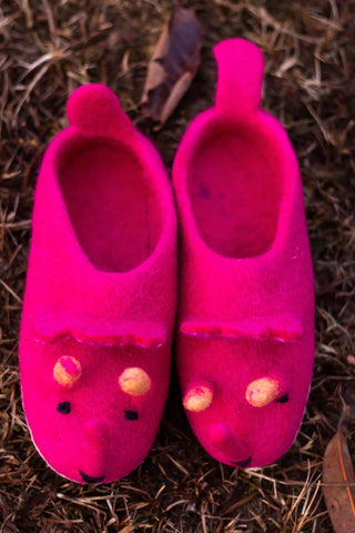 Cute Bug Slippers - yala-garden -