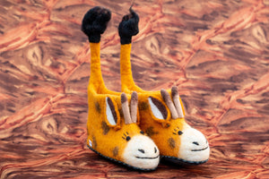 Giraffe Shoes - yala-garden -