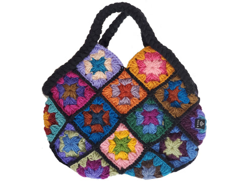 Handmade Woolen Handbag | Woolen Purse Handmade | 100% Pure Woolen | Himalayan Made | Colorful Bag