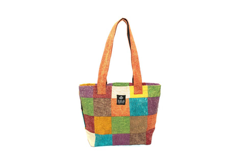 Handmade Tote Bag | 100%  Pure Organic Cotton Tote Bag | Yala Garden