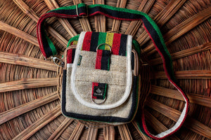 Hemp Messenger Bag - yala-garden -