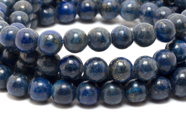 Blue Lapis Necklace Mala | 100% Pure Blue Lapis Stone | Handmade Necklace - Yala garden