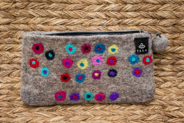 Matted Dot Purse - yala-garden -