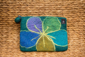 Violet Scribbled Purse Large - yala-garden -