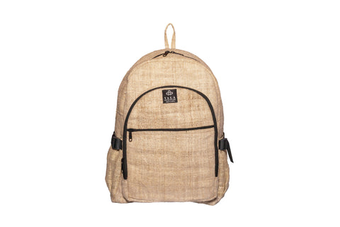 Hemp Backpack | 100% Pure Hemp Backpack From Himalayan | Waterproof Bag | Yala Garden