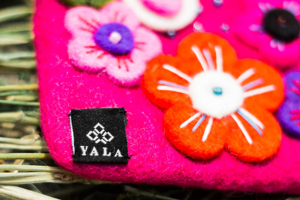 Yala Flower Purse - yala-garden -