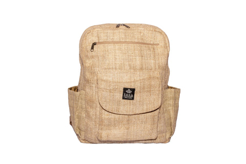 Hemp Backpack | 100% Pure Hemp Backpack From Himalayan | Waterproof Bag | Classic Style Daypack Backpack - yala garden
