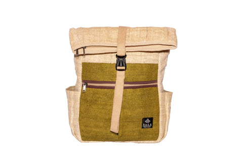 Hemp Backpacks | 100% Pure Hemp Backpack From Himalayan | Waterproof Bag | Rucksack Backpack - Yala Garden