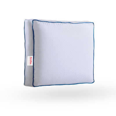 Duroflex Neck-Balance - 100% Memory Foam Orthopaedic Pillow with Cool Gel,Heat Absorption Technology and Lavender Scent