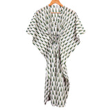 Kaftan for women in free size with HandBlock Print