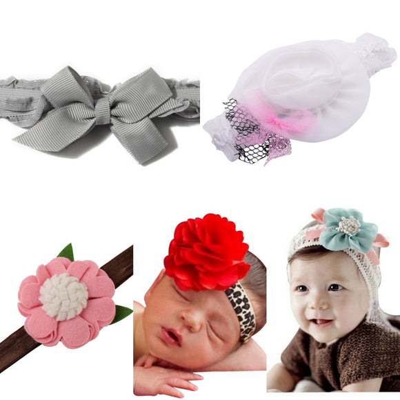 5 Headband Set for Baby - Value Pack