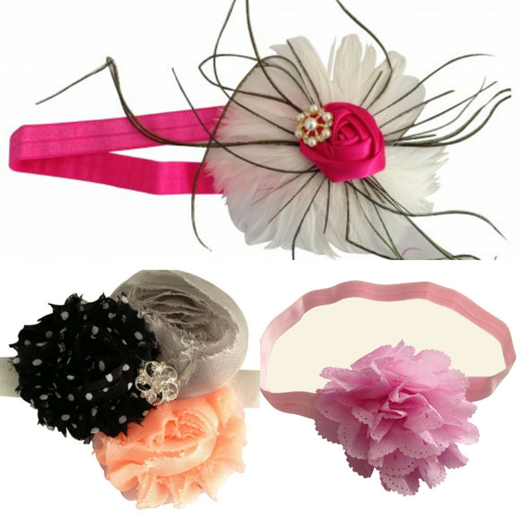 3 Headband Set for Baby - Value Pack