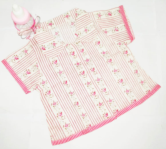 Infant Tops/Jhablas for Newborn Girls