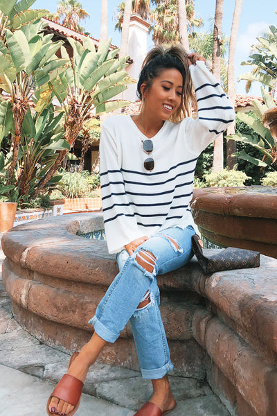 ROOFTOP STRIPED KNIT