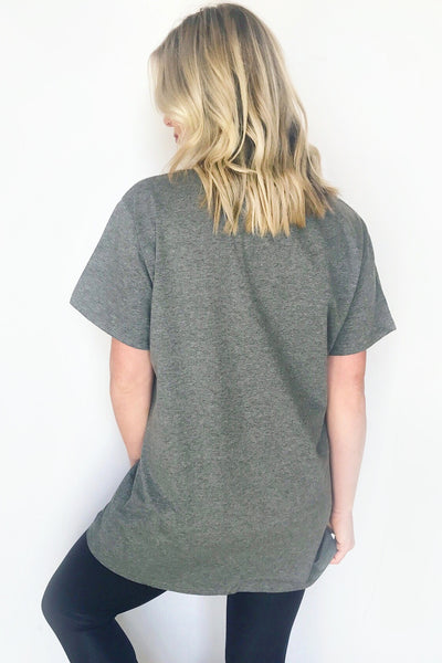 AFTER PARTY TEE (CHARCOAL)