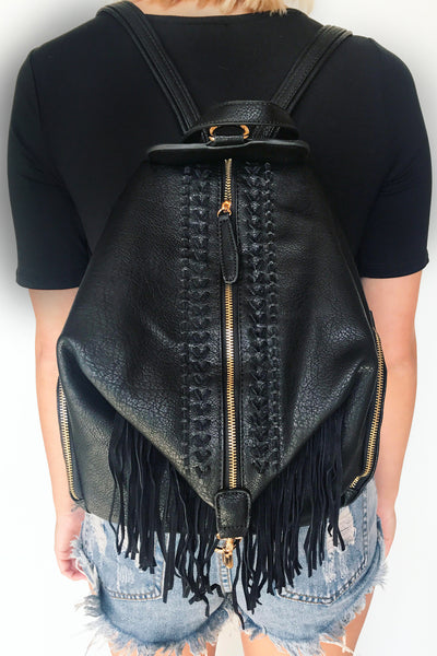 TARYN BACKPACK (BLACK)