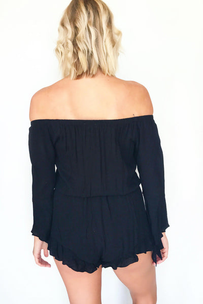 FEST DAY ROMPER (BLACK)